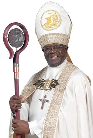 The Right Reverend Bishop Claude Berkley (12th Bishop in Office 2011-Present
