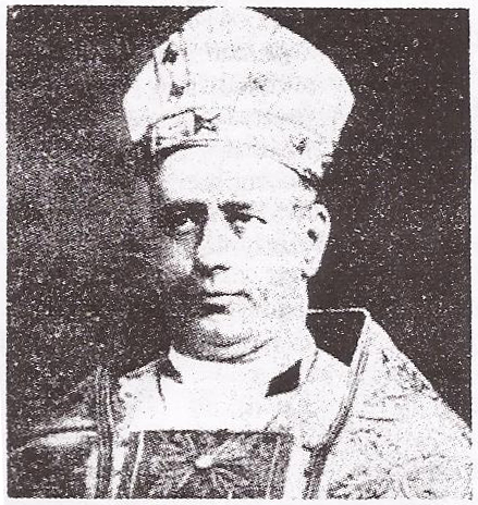 Bishop John Francis Welsh (3rd Bishop in Office from 28th October 1904 - 1916)