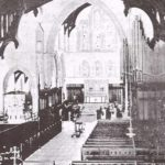 Interior, Holy Trinity Cathedral (1925), showing the organ installed in 1914 by Dean Holt and maintained by him for 30 years