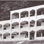 Trinity College. The new buildings for the senior school, without the top storey, which was completed after the boys had moved in