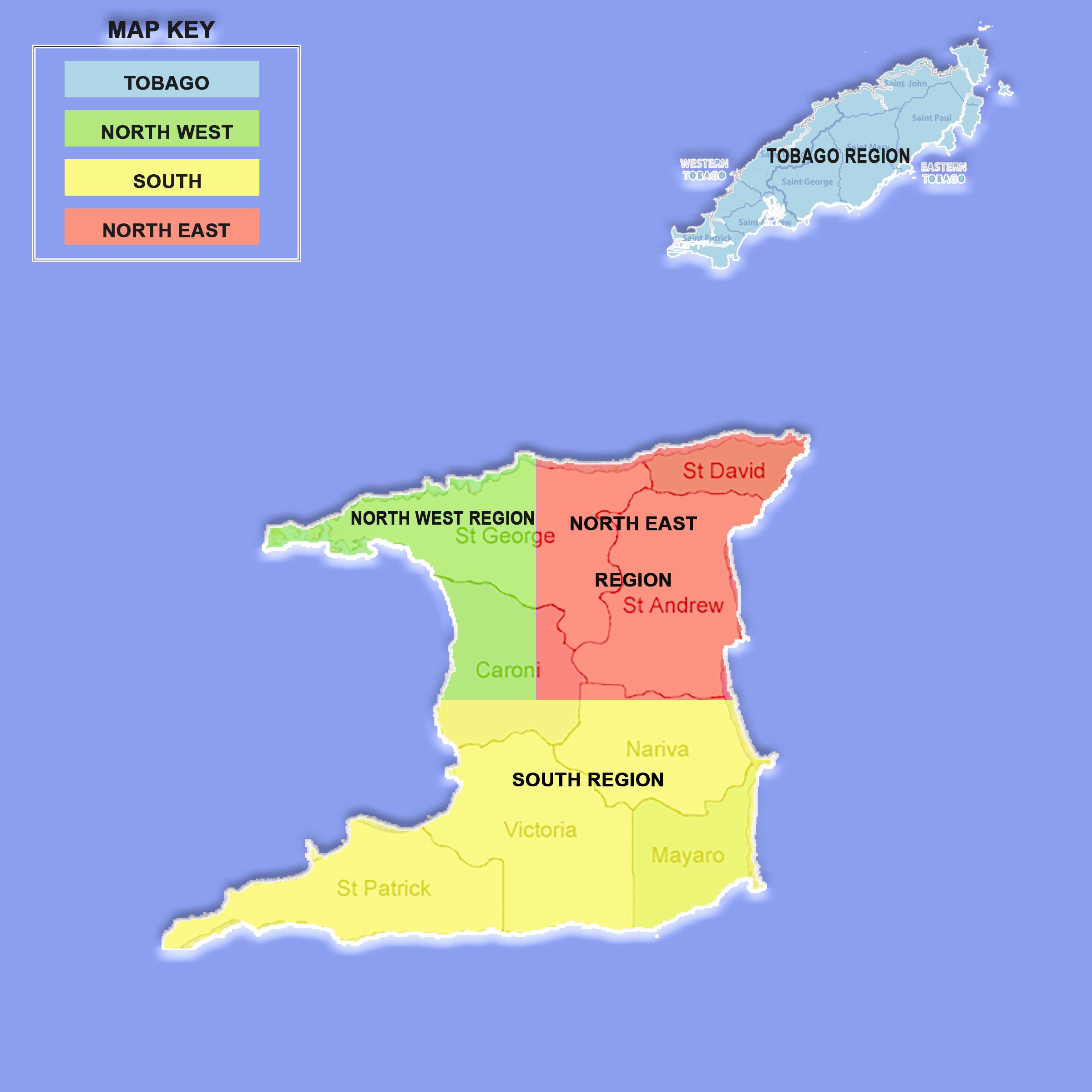 Interactive Diocesan Map